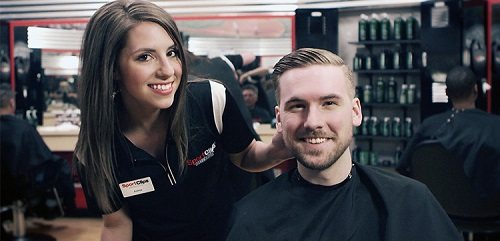 Sport Clips Haircuts of Meyerland​ stylist hair cut